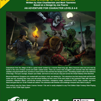 Dread Swamp of the Banshee Front Cover DW